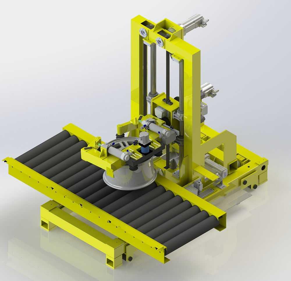 3D модель механической части CSM.Wheel