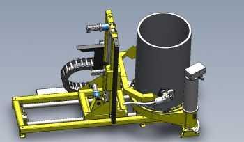 CSM.Tube радиографический контроль труб колец различного диаметра