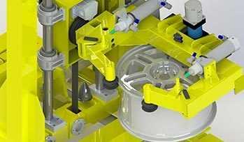 Манипулятор С-рука рентгенотелевизионной установки CSM-Wheel